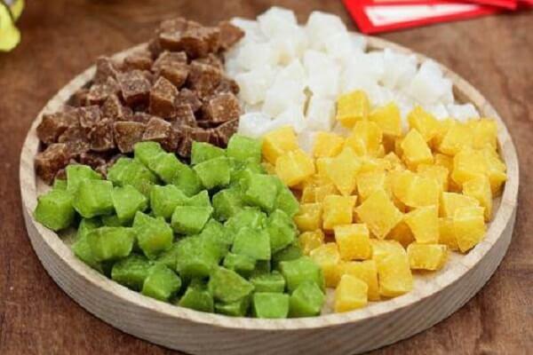 Mứt trái cây mềm dẻo là một món ăn vặt hay tráng miệng hoàn hảo
