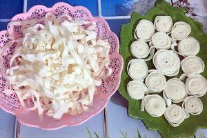 Cách làm mứt dừa với sữa đặc ông Thọ không cần nước vôi trong