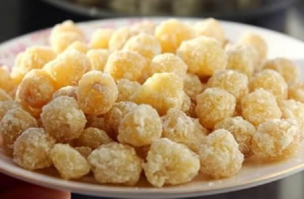 Mứt hạt sen rất tốt cho sức khỏe nữa nhé.