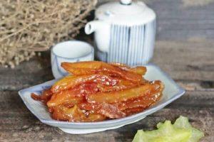 Cách làm mứt khế chua, ngọt không cần nước vôi ngày Tết