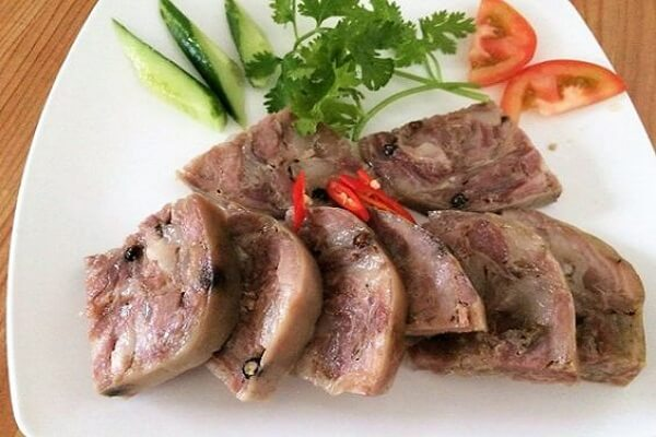Cách làm thịt nguội da heo, Jambon da heo đơn giản