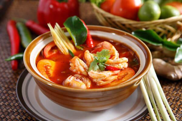 Canh tôm Yum Goong