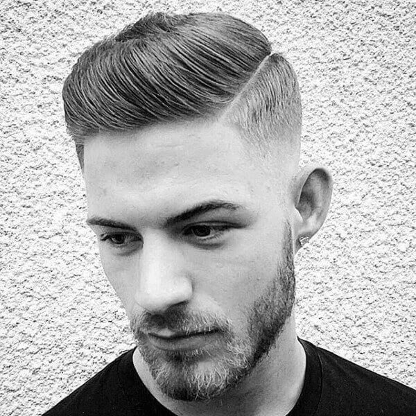 Kiểu tóc Slicked Back - Dành cho tóc thẳng, không xoăn