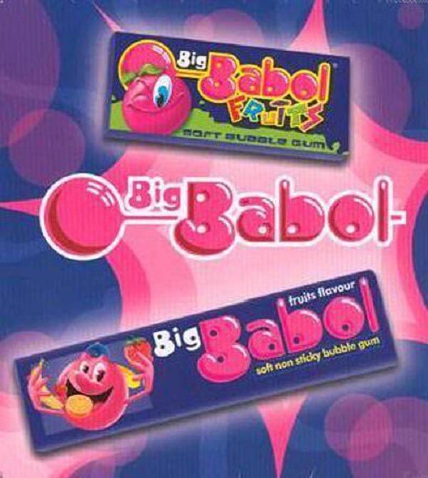 """Kẹo cao su thổi Big Babol đã từng có một thời """"làm mưa, làm gió""""..."""
