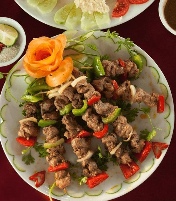Cách làm thịt đà điểu nướng