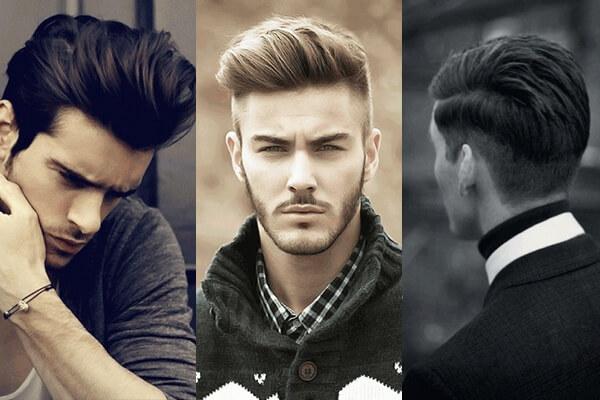 - Các kiểu tóc phù hợp khuôn mặt dài gầy, tròn cho nam giới