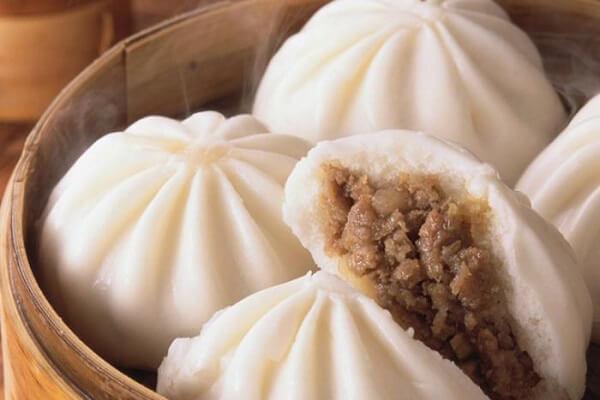 Bánh bao tượng trưng cho sự may mắn của người Trung Quốc