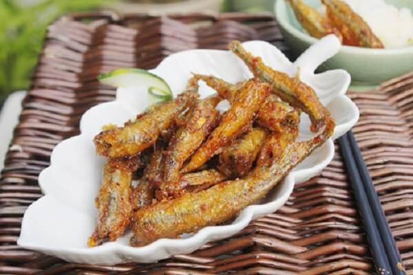 Món cá rói rán giòn (30k)