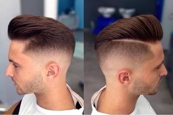 Hướng dẫn cắt tóc nam cạo 2 bên và gáy để đỉnh đầu tại nhà