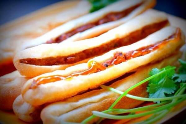 Bánh mỳ cay Hải Phong