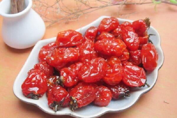 """Ý nghĩa mứt cà chua """"may mắn, phú quý, tài lộc"""""""
