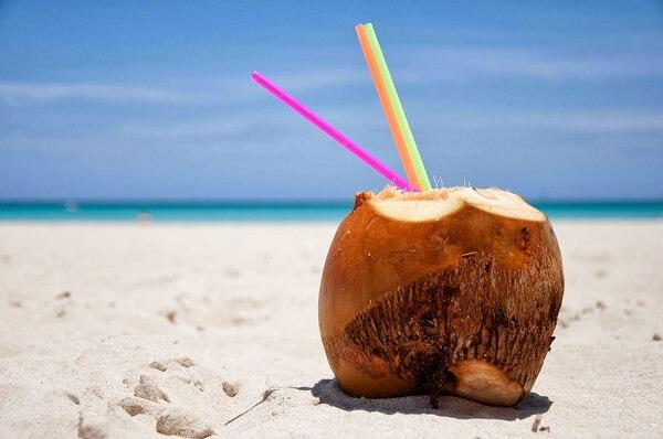Dừa nướng ngọt lịm