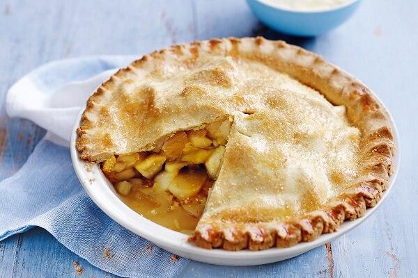 Cách làm bánh táo nướng kiểu Mỹ đơn giản - Bánh tart táo cổ điển