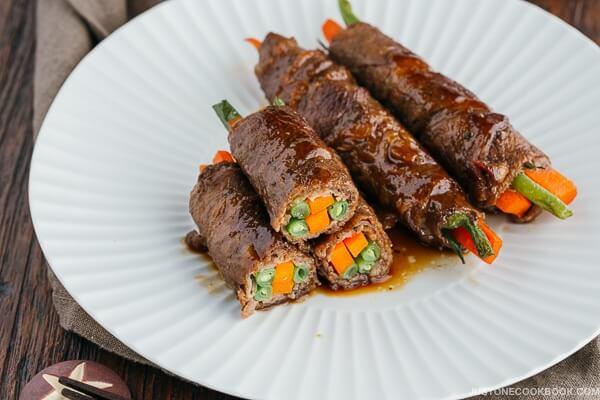 Món bò cuộn luôn là một món lạ miệng và hấp dẫn