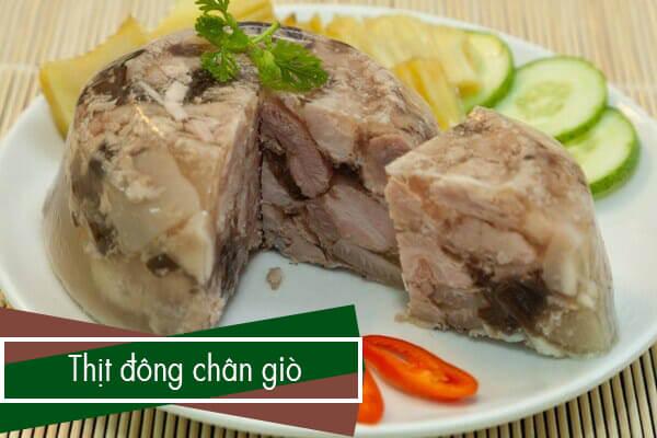 Thịt đông là một món ăn ngon và bổ dưỡng