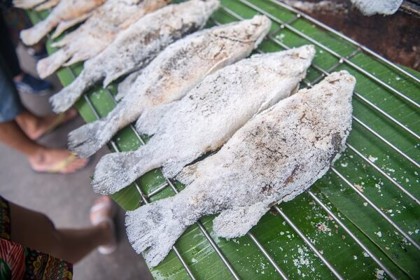 Cá nướng muối