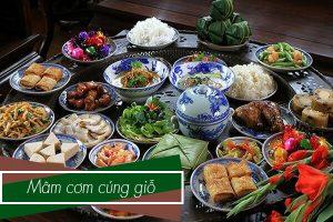 Văn khấn và thực đơn cúng đám giỗ - Các món ăn đãi tiệc ngày giỗ