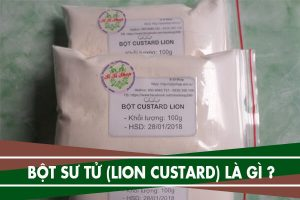 Bột sư tử (Lion Custard) là gì, giá bao nhiêu - Các loại bột sư tử