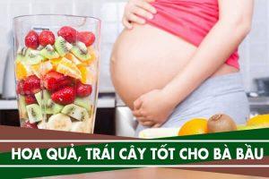 8 loại hoa quả, trái cây tốt cho bà bầu