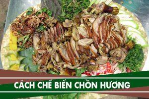 Cách nấu thịt chồn hương - Làm cầy hương xào lăn, hấp xả, rựa mận