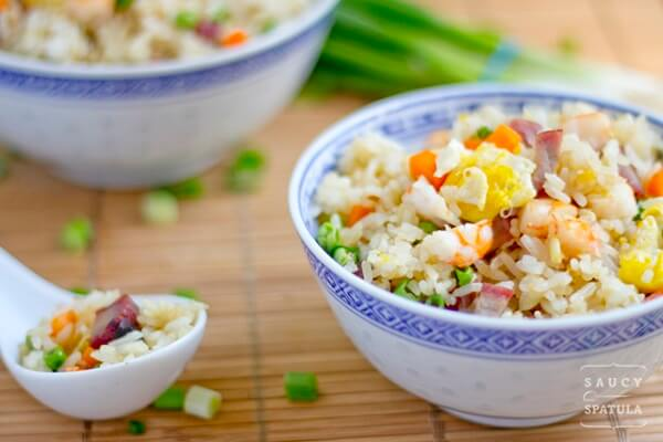 Yang Chow Fried Rice is probably the most eminent fried rice recipe in the Philippines