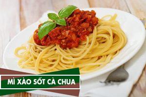 Cách làm mì xào cà chua ngon đơn giản ngay tại nhà chỉ 30p