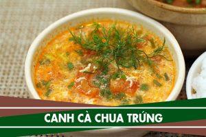 Cách nấu canh trứng cà chua ngon đơn giản dễ làm chỉ 15p