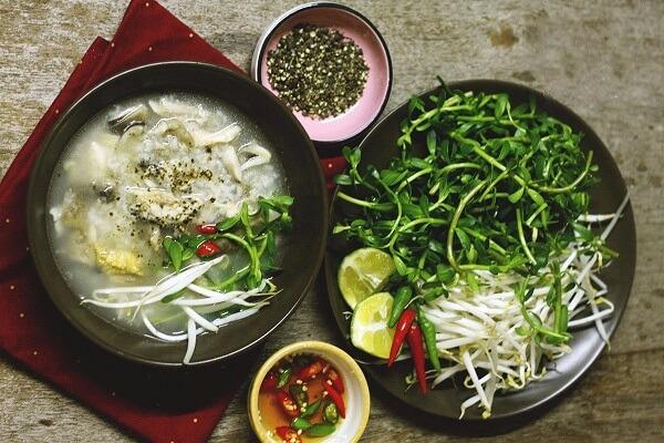 Nấu cháo cá lóc bằng nồi cơm điện