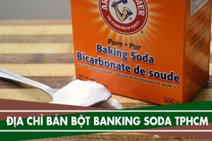 Bột banking soda mua ở đâu TPHCM, có bán ở siêu thị không
