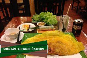 Các quán bánh xèo ngon tại Sài Gòn, bánh xèo miền Trung, miền Tây