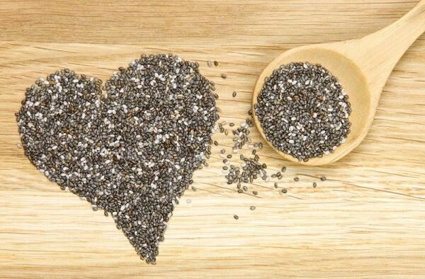 Trong hạt chia có chứa một nguồn omega 6 cao, chất chống oxy hóa