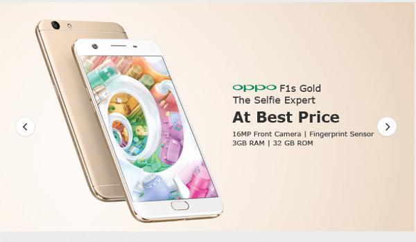 OPPO F1s 32GB/3GB - Giá tham khảo tại Tiki: 3.990.000 đồng