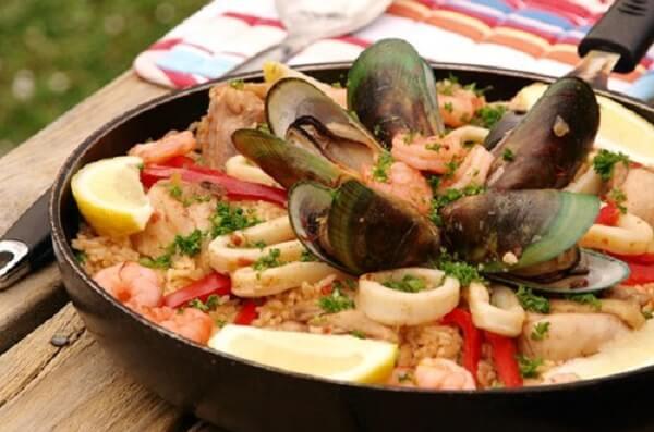 Đặc sắc ẩm thực Tây Ban Nha