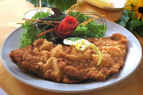 Món Wiener Schnitzel