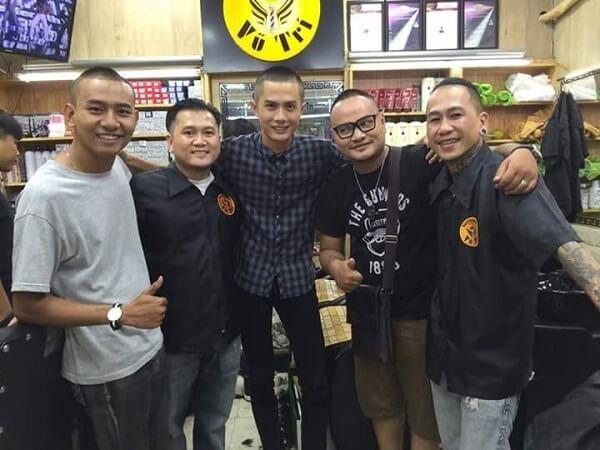 Tiệm Barber Shop Vũ Trí - Q.3, TP. HCM.