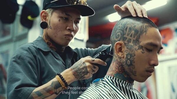 Tiệm cắt tóc Liêm Barber - Quận 3, TP.HCM.