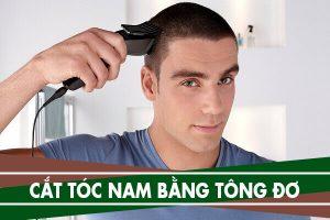 Hướng dẫn cách cắt tóc nam bằng tông đơ tại nhà