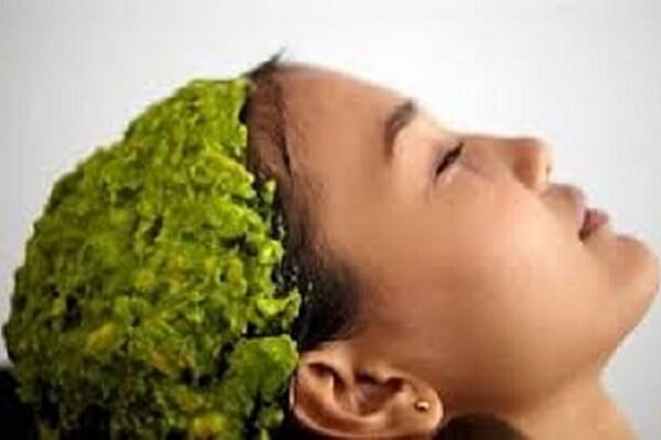 Sử dụng mặt nạ tự nhiên dành cho tóc