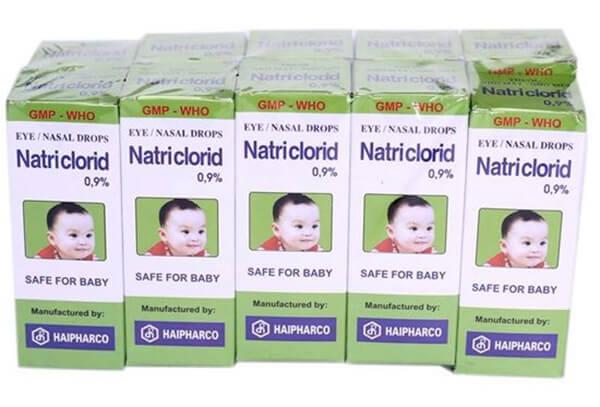Nước muối sinh lý cho trẻ sơ sinh - cách chữa ngạt mũi cho trẻ sơ sinh