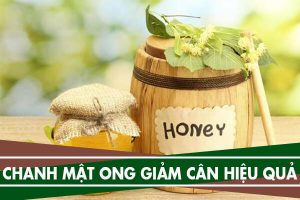 Giảm cân bằng chanh mật ong - Uống vào buổi tối có giảm cân không