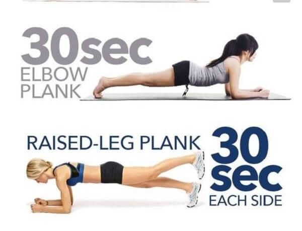 Bài tập Plank có tác dụng cho cả nam và nữ