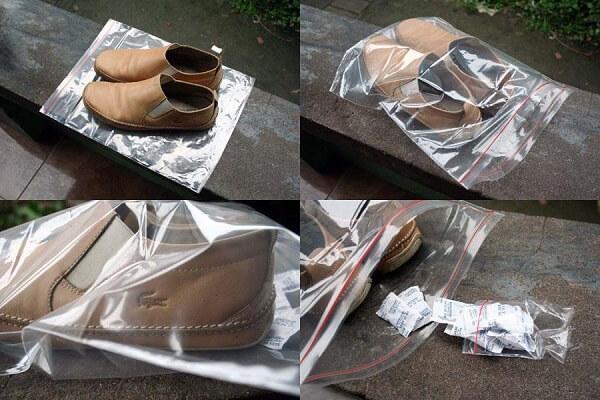Cách bảo quản giày sau khi đã làm sạch và khử mùi