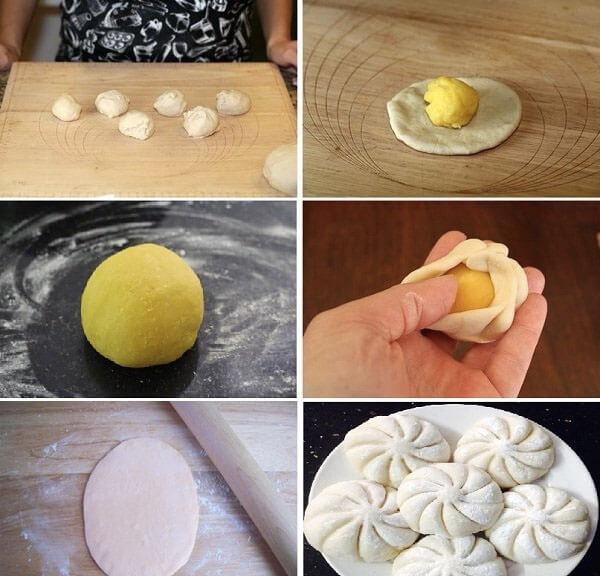 Cách làm bánh bao kim sa ăn sáng cho cả gia đình – cach lam banh bao kim sa