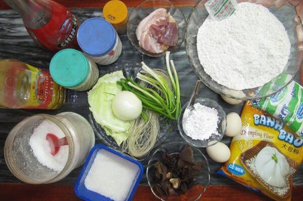 Nguyên liệu làm bánh bao chiên cần có – cach lam banh bao chien