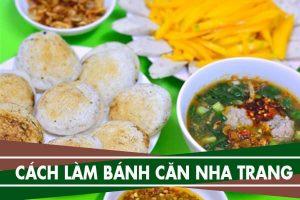 Cách làm bánh căn trứng cút Nha Trang, đậm chất Nam Trung Bộ