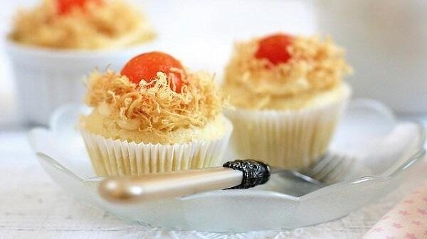 Cupcake thơm ngon và bắt mắt không cần đến lò nướng và máy đánh trứng