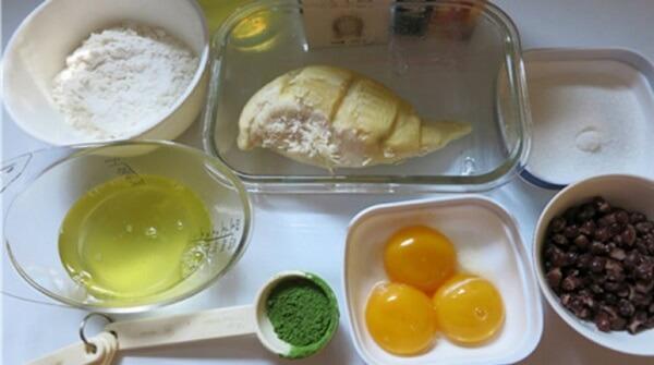 Nguyên liệu cho phần nhân bánh
