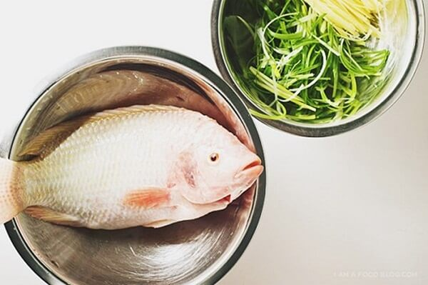 Gợi ý nấu món cá diêu hồng hấp Hồng Kông cho ngày tết