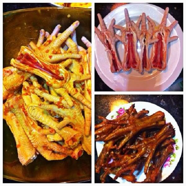 Cách làm chân gà nướng muối ớt, nướng mật ong thơm lừng - chan ga nuong