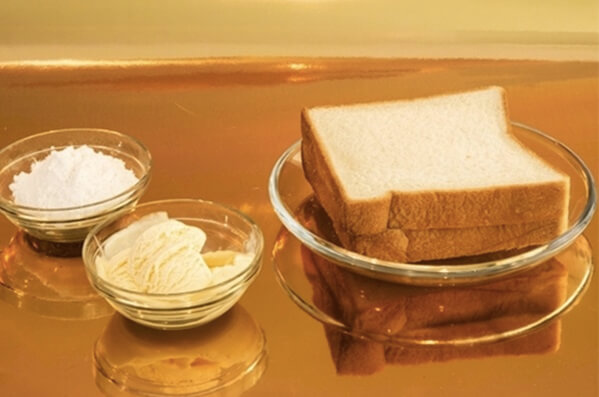 Chuẩn bị nguyên liệu làm kem chiên – cach lam kem chien
